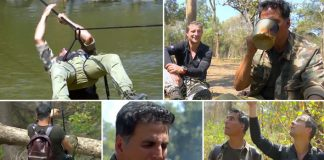 Akshay Kumar Turns Into A 'Khatron Ke Khiladi' Contestant For Bear Grylls' Into The Wild's Episode - Trailer Out!