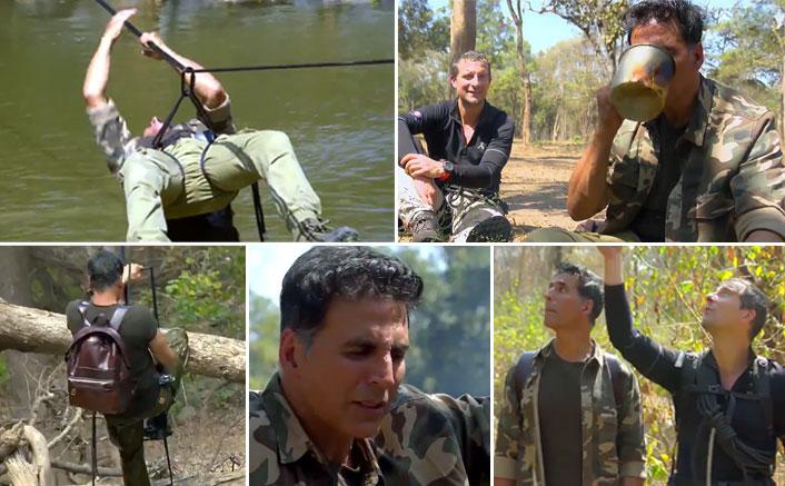 Akshay Kumar Turns Into A 'Khatron Ke Khiladi' Contestant For Bear Grylls' Into The Wild's Episode - Trailer Out!
