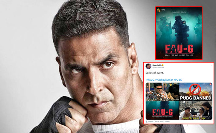 Akshay Kumar's 'Aatma-Nirbhar' FAU-G Replaces PUBG Only To Become A Meme Material!
