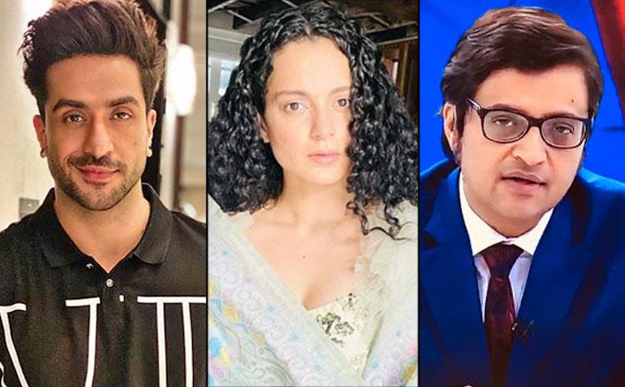 """Aly Goni Doesn't Support Kangana Ranaut & Arnab Goswami; Says """"Sab Apne Matlab Ke Liye Kar Rahe Hain"""""""