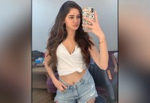 Ananya Panday shares first look test pics of 'Khaali Peeli'