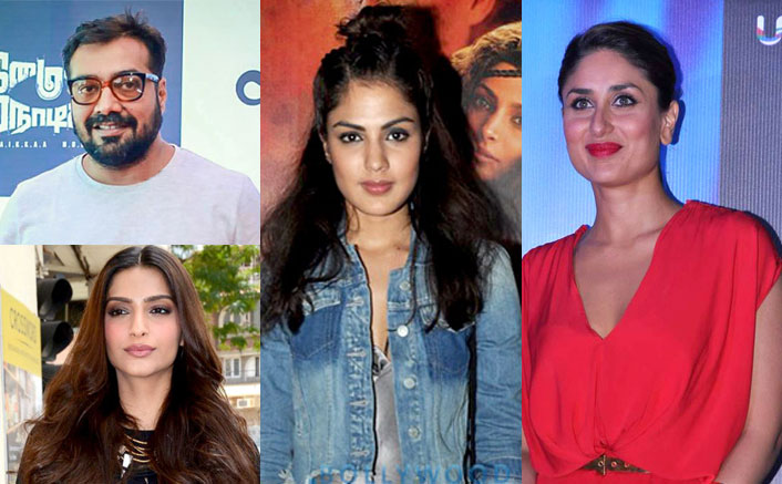 Angry Fans Trend #BoycottBollywoodFilms As Kareena Kapoor Khan, Anurag Kashyap & Others Extend Support To Rhea Chakraborty!