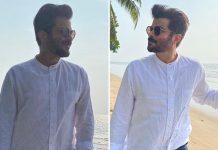 Anil Kapoor enjoying weekend getaway in Alibaug