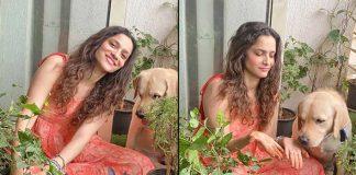 Ankita Lokhande fulfils Sushant's dream by planting saplings
