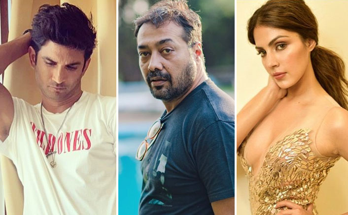 Anurag Kashyap Hints At Sushant Singh Rajput's Dark Side, Explains Why Industry Is Backing Rhea Chakraborty!