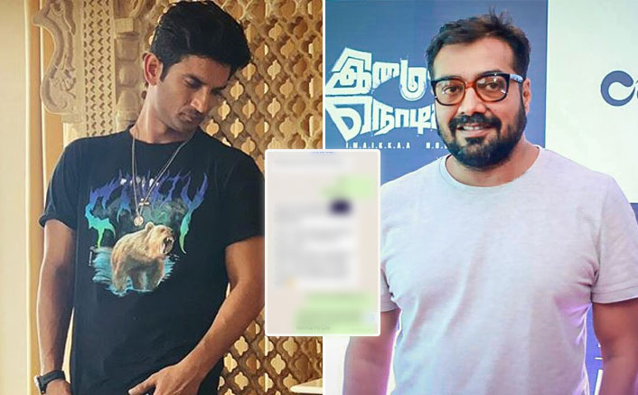 Anurag Kashyap Shares Old Chats With Sushant Singh Rajput's Manager; Late Actor Being Labelled As 'Too Problematic'