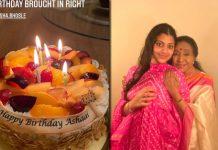 Asha Bhosle celebrates 87th birthday with family