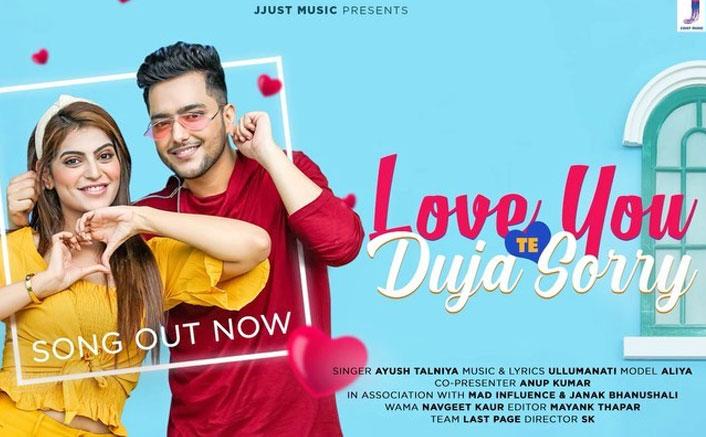 Ayush Talniya's New Song Love You Te Duja Sorry Should Be On Your Playlist Amid This 'Lockdown' Season