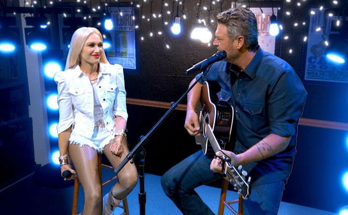 Blake Shelton & Gwen Stefani Are 'Happy Anywhere' & 2020 ACM Awards Is No Exception!