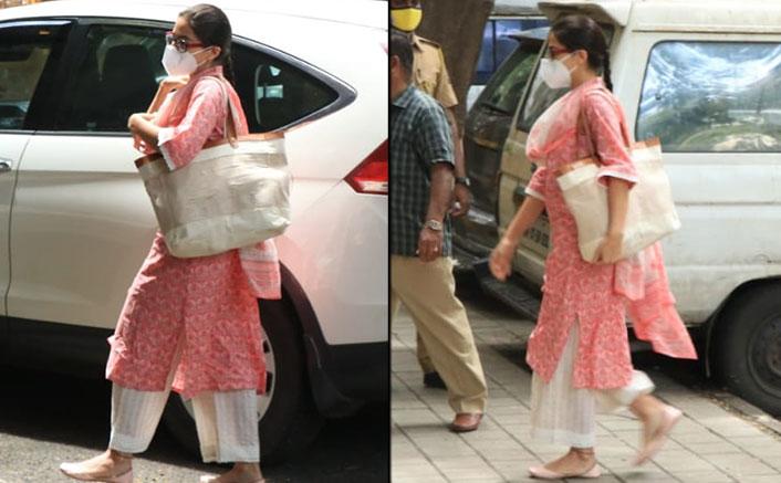 Bollywood Drug Probe: Sara Ali Khan Arrives At NCB Headquarters For Questioning