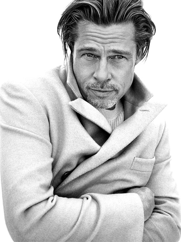 Caption me: Brad Pitt for Brioni Fall/Winter 2020 campaign (Picture Credits: Brioni)