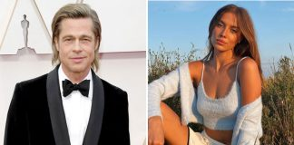 Brad Pitt's GF Nicole Poturalksi Goes Braless & It's A Sight To Behold, See PIC