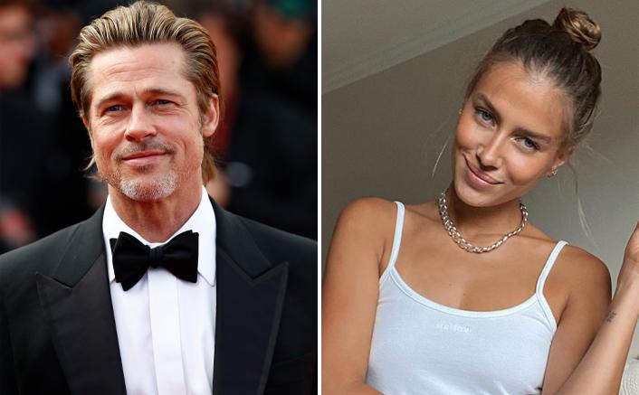 Brad Pitt's Girlfriend Nicole Poturalski Enjoys Morning Walk With Her Son! WATCH