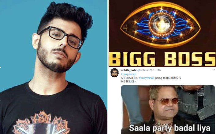 CarryMinati In Bigg Boss 14: Memes Won't Stop Flooding As Fans Refuse To Believe!