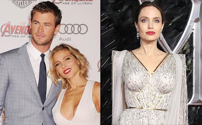 Chris Hemsworth & Wife Elsa Pataky Facing Trouble In Paradise? Courtesy, A Flirty Angelina Jolie