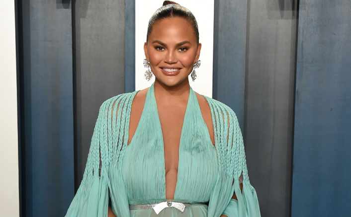 "Chrissy Teigen On 2 Week Bed Rest: ""I'm Taking This Time To Learn How To Sew Capes & Kid Clothes"""