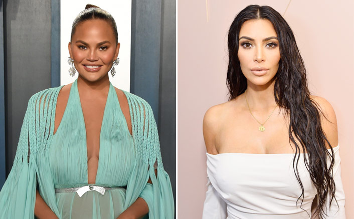 """Chrissy Teigen Supports Kim Kardashian & Her Maternity Shape Wear: """"It's Just The Most Comfortable Thing To Wear"""""""