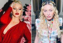 Christina Aguilera didn't find kissing Madonna in 2003 'shocking'