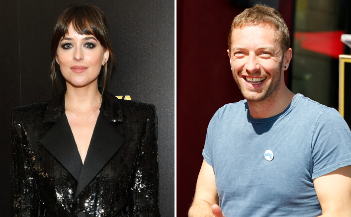 Dakota Johnson Oozes OOMPH In This Oversized Shirt Dress On A Lunch Date With Chris Martin!