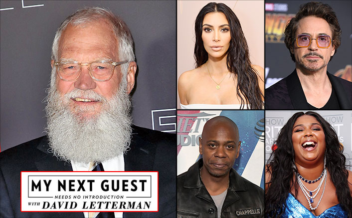 David Letterman's 'My Next Guest Needs No Introduction' STARRY Line-Up Ft. Robert Downey Jr, Kim Kardashian, Lizzo & Dave Chappelle