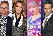 Did Taylor Swift Just Hint On A Movie Idea With Blake Lively, Ryan Reynolds & Jesse Tyler Ferguson?