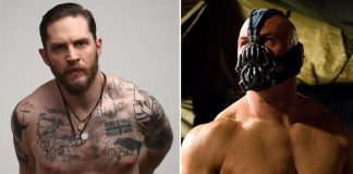 Did You Know? For The Dark Knight Rises, Tom Hardy Had A 'Pancake' Makeup