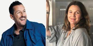 Drew Barrymore & Adam Sandler Reunites For Talk Show