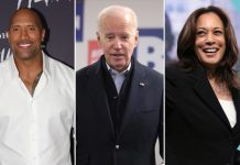 Dwayne Johnson Publicly Endorses Joe Biden & Kamala Harris, Calls Latter A 'Certified Bad*ss'