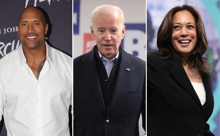 Dwayne Johnson Publicly Endorses Joe Biden & Calls Kamala Harris A 'Certified Bad*ss'