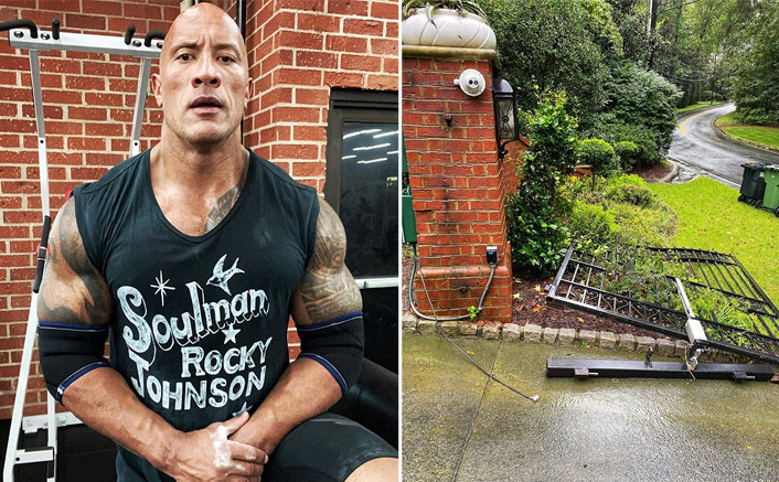 Dwayne Johnson Proves Why He's The ROCK, Tears Down A Gate With Bare Hands(Pic credit: Instagram/therock)
