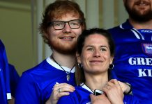 Ed Sheeran & Cherry Seaborn 'Are On Cloud Nine' As They Welcome Little Lyra Home
