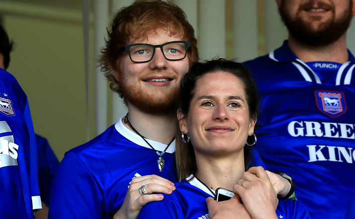 Ed Sheeran & Cherry Seaborn Are On 'Cloud Nine' As They Welcome Little Baby Girl Lyra Home