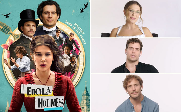 Enola Holmes: Millie Bobby Brown, Henry Cavill & Sam Claflin Update Us With The Plot & Character Details; WATCH