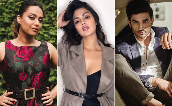 """EXCLUSIVE! Swara Bhasker On Sushant Singh Rajput Row: """"We Want To Construct A Murder That May Be Non-Existed"""""""