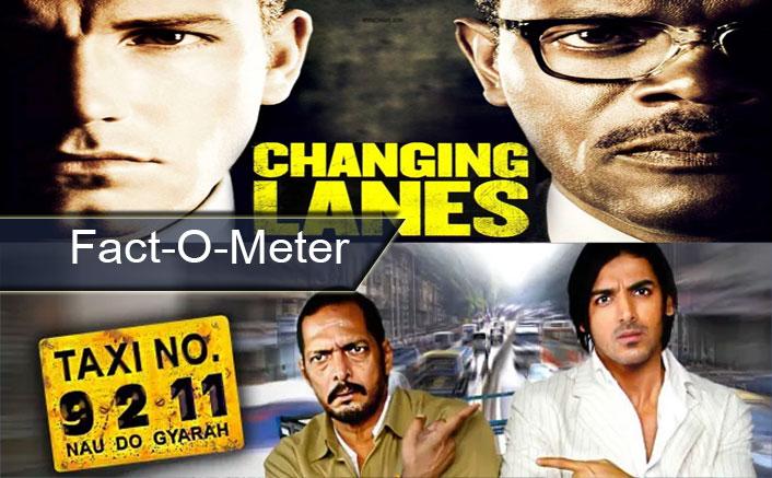 Fact-O-Meter: Did You Know? Ben Affleck-Samuel L. Jackson's Changing Lanes Inspired John Abraham, Nana Patekar's Taxi No. 9211