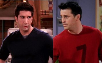 FRIENDS: David Schwimmer's Ross & Matt LeBlanc's Joey Breaking Their Characters Will Beat Your Monday Blues Left, Right & Centre