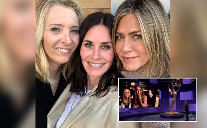 """FRIENDS Reunion At Emmys 2020: Jennifer Aniston On Courteney Cox, """"We've Been Roommates Since 1994"""""""