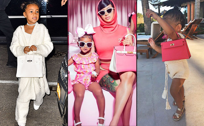From Cardi B's Daughter Kulture To Kylie Jenner's Stormi - 3 Little Fashionistas Who Own Hermes Birkin Bags