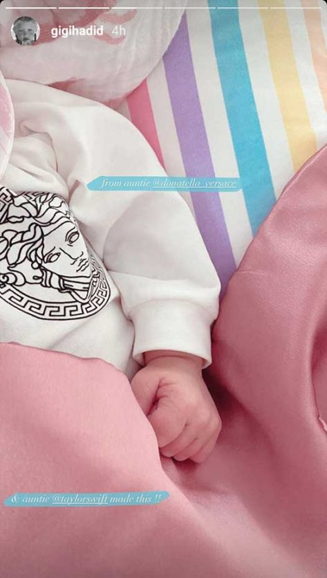 Gigi Hadid Shares Baby ZiGi's New Gifts From Taylor Swift ...