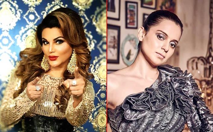 Rakhi Sawant Slams Kangana Ranaut In Her Latest Video, Calls Her 'Bhikh Mangi' & 'Lombdi'