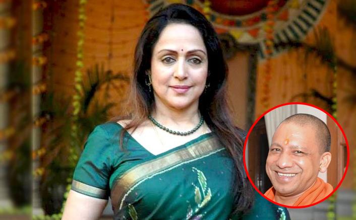 Hema Malini Congratulates UP CM Yogi Adityanath For Greater Noida Film City Project