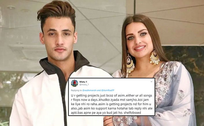Himanshi Khurana Attacked By Asim Riaz's Fans, Forced To Stop Working With Beau