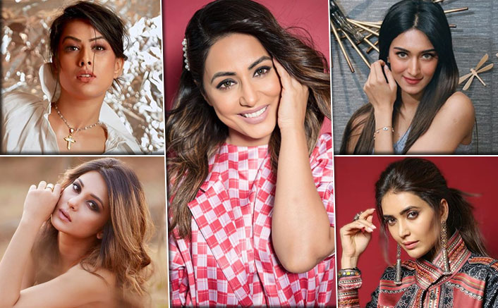 Hina Khan On #1, Nia Sharma To Erica Fernandes - TV's Most Desirable Women Of 2019!