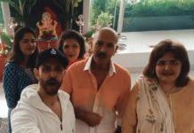 Hrithik Roshan shares glimpse of Ganesh Chaturthi celebration with family