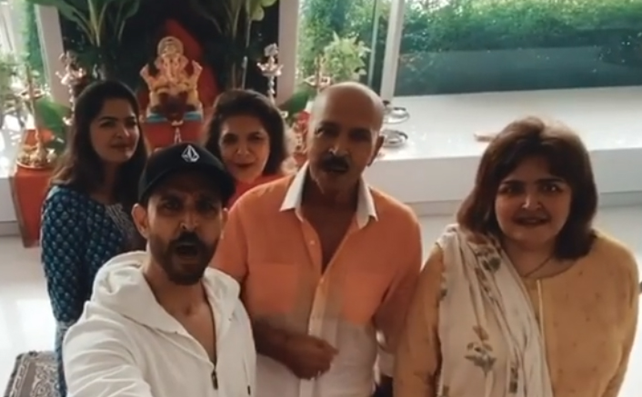 Ganesh Chaturthi 2020: Hrithik Roshan Shares A Glimpse Of Celebration With Family