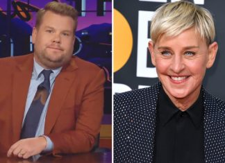 """James Corden Rubbishes Reports Of Replacing Ellen DeGeneres: """"There Is Absolutely No Truth In That Story At All – Zero"""""""