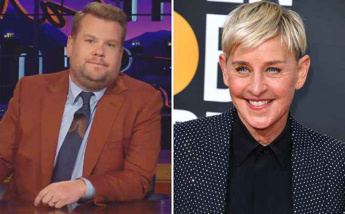 """James Corden DENIES Replacing Ellen DeGeneres As The Host, Says """"There Is Absolutely No Truth..."""""""