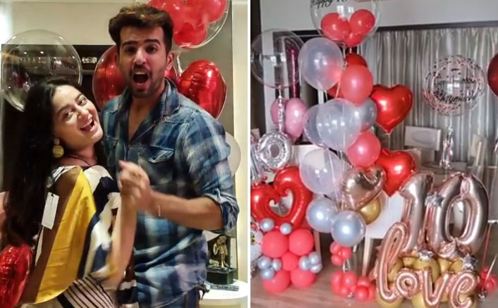 Jay Bhanushali & Mahhi Vij Celebrate 10 years Of Togetherness With Quirky Posts On Social Media