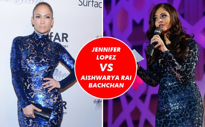 Jennifer Lopez VS Aishwarya Rai Bachchan Fashion Face-Off: The OG Metallic Queen?