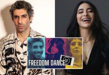 Jim Sarbh, Bani J do the 'Freedom Dance'